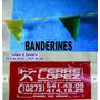 Banderines,etiquetas Sencamer,carton,cuero,papel,autodesivas