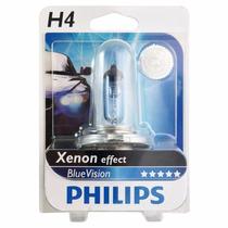 Lampada Blue Vision H4 Farol Xenon Super Branca Philips