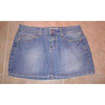 Linda Mini Falda De Jeans Talla 5 Ymi Como Nueva