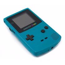 Game Boy Color Teal Blue/azul Zero Novo