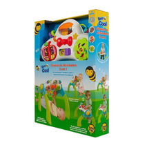 Ginásio De Atividades 3 Em 1 Bee Cool 1604 - Bee Me Toys