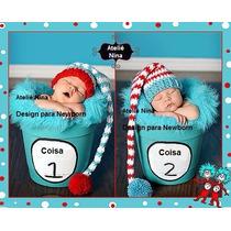 Gorrinho Newborn Coisa 1 Coisa 2 Baby Preço Por Unid.