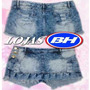 Short Saia Feminino Jeans Plus Size Lindo Lojas Bh Oferta