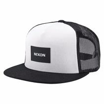 Gorra Nixon C2167-005-00 Trucker Team Black White