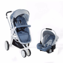 Coche Travel System - Kiddy - Compass Plus White