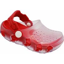 Atacado 12 Sapato Infantil Transparente Igual Crocs Babuche