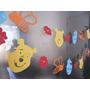 Decoracion Winnie Pooh. Guirnaldas. Cumpleaños Infantil. 2m