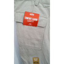 Dockers Pantalon Cargo Comfort - Caballeros 100% Original