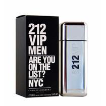 Perfume De Caballero 212 Vip Men 100ml Importados