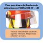 Visor Para Casco Firetamer Para Bomberos