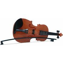 Mini Violino Infantil C/ Arco Criança Brinquedo Instrumento