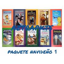 Paquete 10 Niños Pinocho Drácula Iliad Odisea 1 Envio Gratis