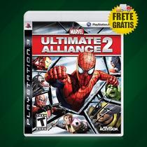 Marvel Ultimate Alliance 2 Lacrado Ps3 + Frete Grátis