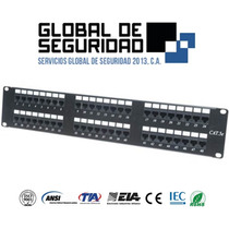 Patch Panel 48 Puertos Cat 5e Marca Wireplu+