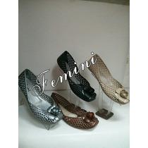 Femini / Confort / Zapato / Dama/ Plastico