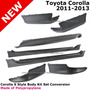 Toyota Corolla Alerón Spoiler Abs Lips Para Años 20009-2013