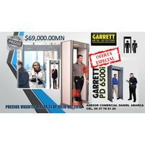 Detector De Metales Nuevos Garrett Mod. Arco Pd6500i