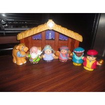 Set Little People Fisher Price Nacimiento
