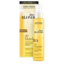 Spray Clareador Sheer Blonde Go Blonder John Frieda