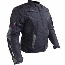 Jaqueta Motoqueiro X11 Evo Proteção / Impermeável Preto Gg