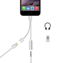 Adaptador Lightning Doble: Aux + Carga Iphone 7 & 7 Plus