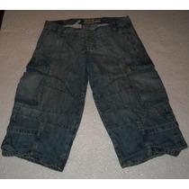 Pantalon Jeans Capri 47 Street T.30 100%orig. C/nuevo