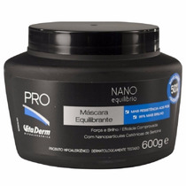 Máscara Capilar Nano Matrix Vitaderm 600g Profissional