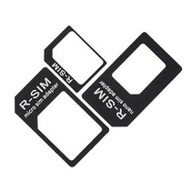 Kit 3 Adaptadores Nano Micro Sim Chip Iphone 5 Ipad Mini