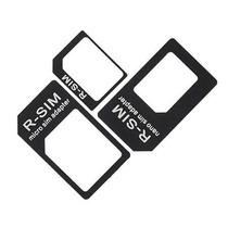 Kit 3 Adaptadores Nano Micro Chip Sim Iphone 5 Ipad Mini