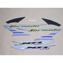 Kit Adesivos Honda Xr 250 Tornado 2006 Azul