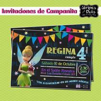 Invitaciones De Campanita-tinkerbell-invitaciones Infantiles