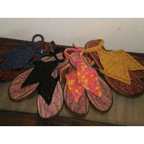 Sandalias Artesanales Tejidas Al Crochet