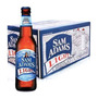 Cerveja Samuel Adams Light - Caixa 24 Long Neck 355ml.