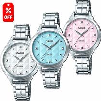 Reloj Casio Ltpe1392 - Cristal Mineral - 100% Original Cfmx