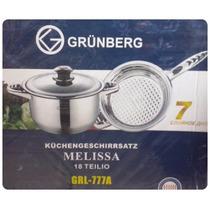 Batería Melissa Grünberg 18 Pz. Acero Grado Alimenticio