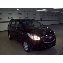 Chevrolet Spin 1.8 N Lt Mt Cuota 4 Entrega Pactad 100% Nr #9
