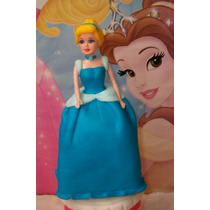 Cenicienta- Tu Princesa Preferida En Tu Torta !!!