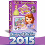 Kit Imprimible 1 Princesa Sofia Invitaciones Editables 2015
