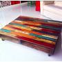 Mesa Pallet Multicolor - Pantano Pallet