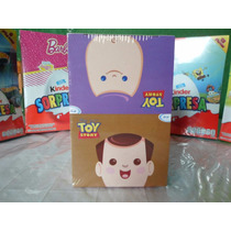 Huevo Sorpresa Tipo Kinder Toy Story 6pz Chocolate