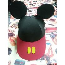 Gorras De Mickey Minnie En Goma Eva