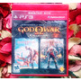 God Of War Collection 1 E 2 - Mídia Física - Impecável - Ps3
