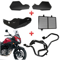 Kit Protetores Suzuki Dl650 V-strom Protetor Da Start Racing