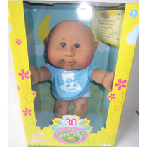 Muñeca Cabbage Patch Kids Cpk Newborn Dark Skin