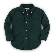 Roupas De Bebe Camisa Masculina Com Bolsos - Polo Rlauren