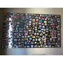 Mural Quadro Chapa Inox Sob Medida P/ Fixar Fotos Com Imãs
