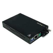 Convertidor De Medios Ethernet 10/100 Mbps A Fibra Monomodo
