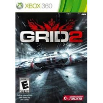 Grid 2 Xbox 360 Jogo Corrida Midia Fisica Novo Original