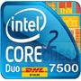 Lote 3 Intel Core 2 Duo Procesador E7500 X3 Procesadores