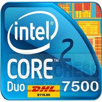Lote Intel 3 Core 2 Duo Procesador E7500 X3 Usados
